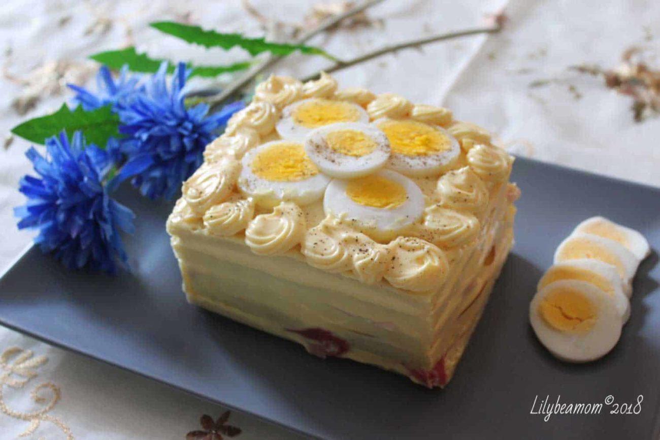 Torta salata tramezzino